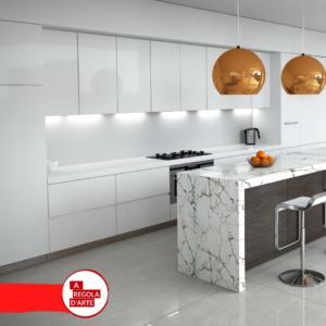 Cucina bianca_Boccia Costruzioni