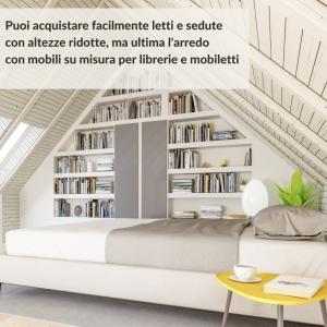 Trasformare la mansarda in camera_mobili su misura, Boccia Costruzioni