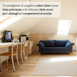 Trasformare la mansarda in camera-colori, Boccia Costruzioni