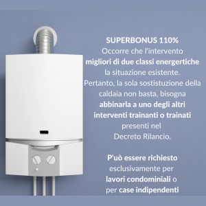 Superbonus 110%-per-sostituzione-caldaia