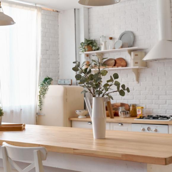 Piano di lavoro in Cucina