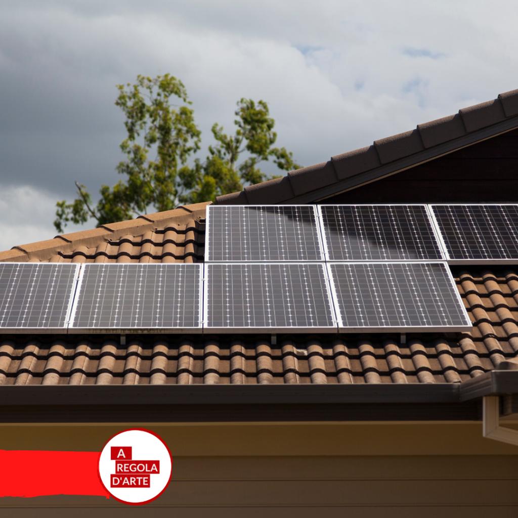 Boccia Costruzioni, pannelli solari