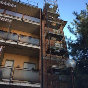 Montaggio ponteggio, Boccia Costruzioni Parma