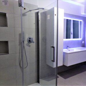 Bagno con LED, Boccia Costruzioni
