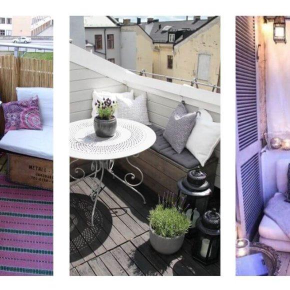 Come sfruttare un balcone piccolo per l'estate